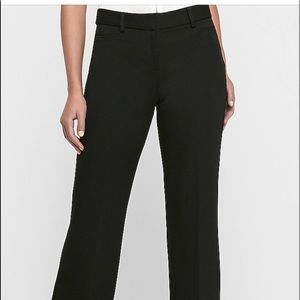Express Editor Trouser Pants size 12 black